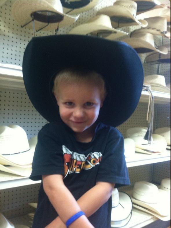 """Ten Gallon Hat"""