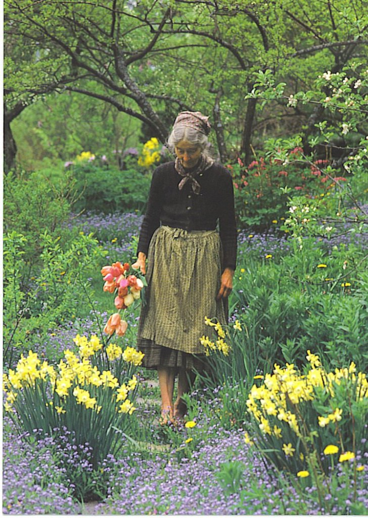 Tasha Tudor's gardens.
